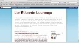 Ler Eduardo Lourenço
