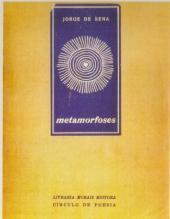 Índices da Poesia de Jorge de Sena  –  7:  Metamorfoses, 1963