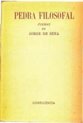 Índices da Poesia de Jorge de Sena  –  3:  Pedra Filosofal, 1950
