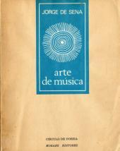 Índices da Poesia de Jorge de Sena  –  8:  Arte de Música, 1968