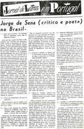 2. Conversas com o poeta: Sena entrevistado no Brasil