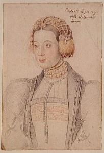 D. Maria, por Gregório Lopes