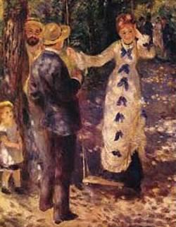 Fig. 4 – O balanço, de Pierre-Auguste Renoir.