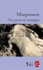 Fig. 6 – Capa de uma outra edição do livro de Guy de Maupassant, onde aparecem Sylvia Bataille (Henriette) e Georges D'Arnoux (Henri).
