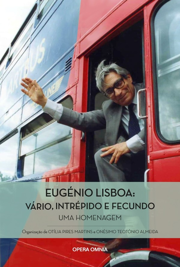 Capa do livro em homenagem a Eugénio Lisboa